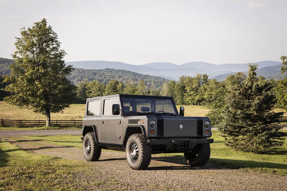 Bollinger Motors B1, this is a battery powered 4x4