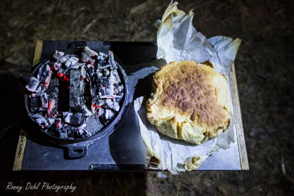 Camp Oven Bread.