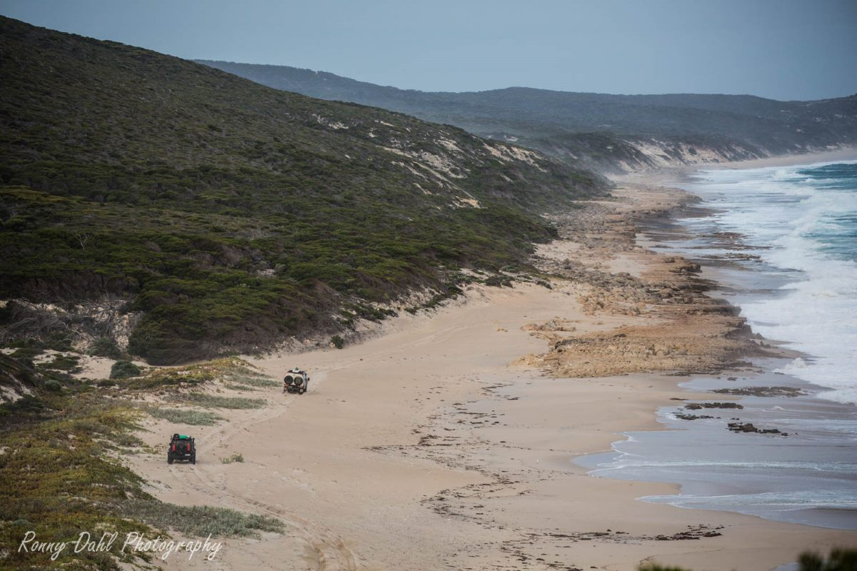 A Beach in the southern part of Western Australia.