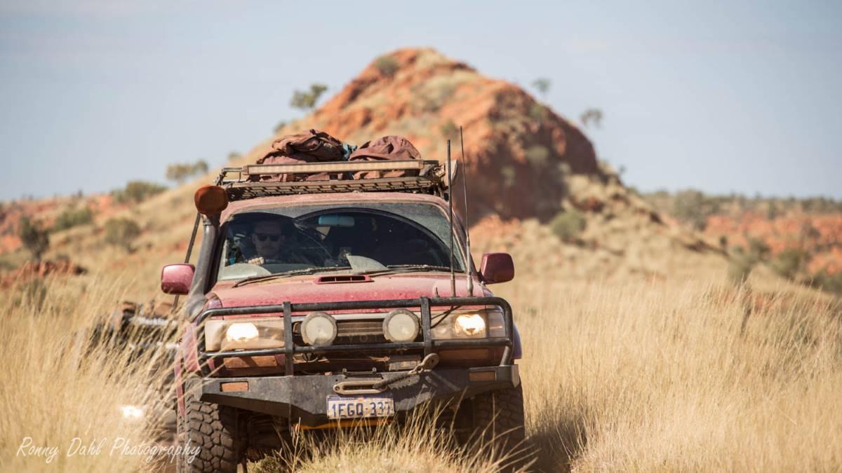 Toyota Landcruiser 80 series Sahara.
