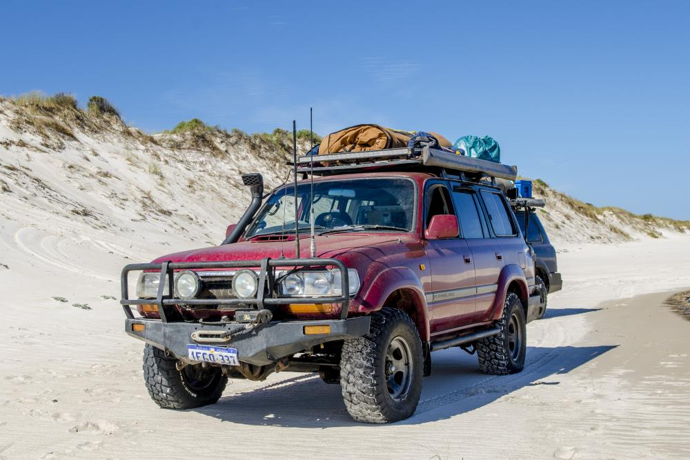 Toyota Landcruiser 80 Series Modified