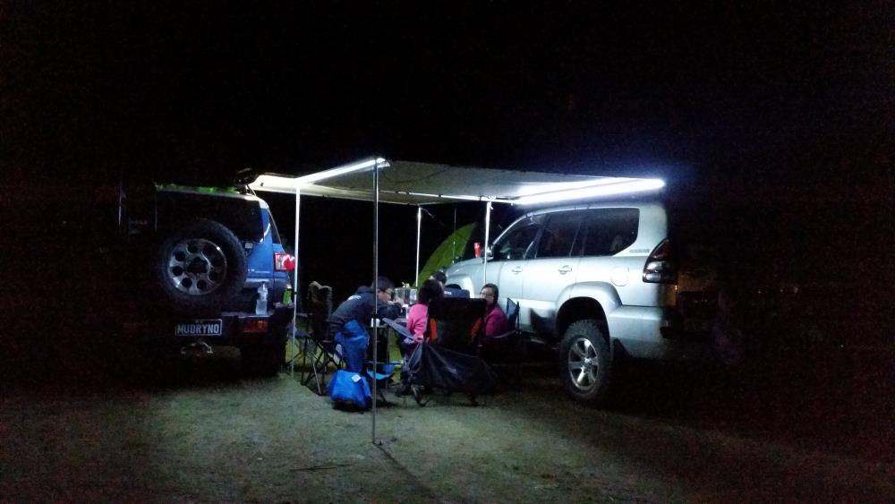 Camping with the Toyota Prado 120 Grande.