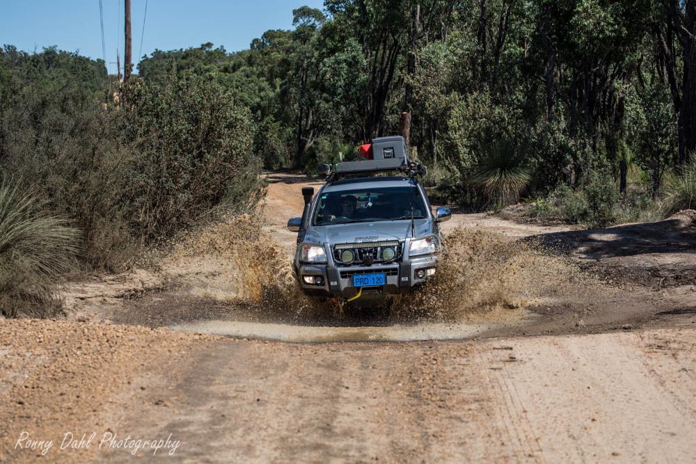 Toyota Prado 120 Grande on the Powerline, Perth, Western Australia.