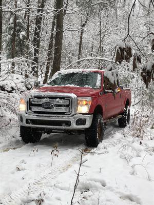 rare snow day in Georgia, US