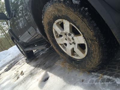 Spring time mud