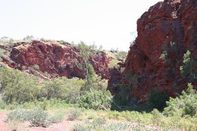 Deep inside the Pilbara