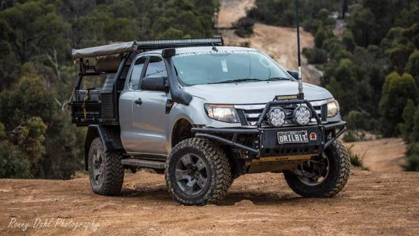 Modified Ford Ranger PX.