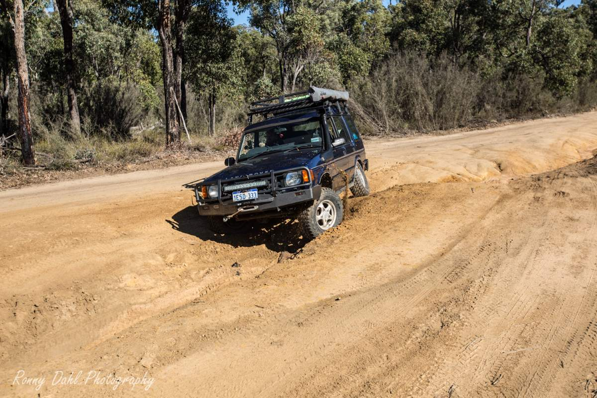 Land Rover Discovery 1, Modified.