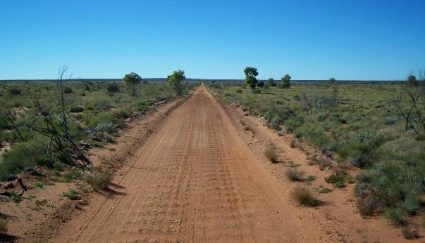 Gunbarrel Highway, Australia.