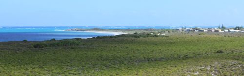 A look at Cervantes from Hanson Bay lookout.