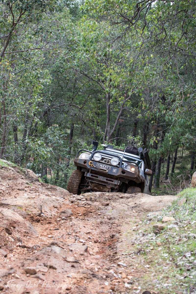 Toyota SR5 Hilux at Brunswick, Western Australia.