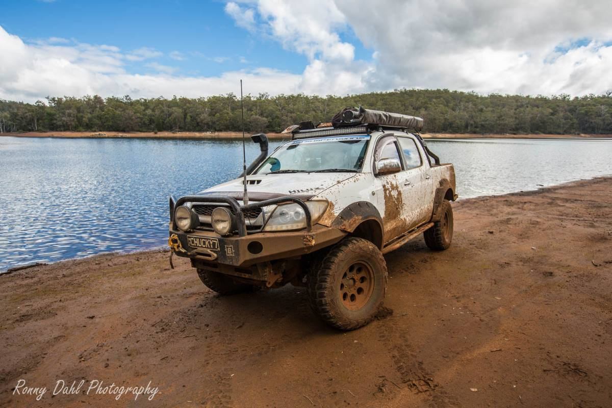 Toyota SR5 Hilux, Modified.