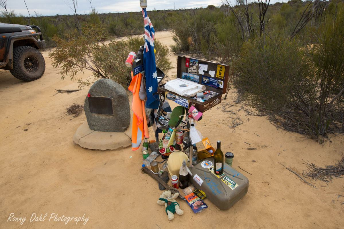 The centenary tribute of the Holland track, Western Australia.