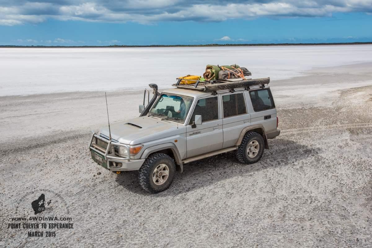 Salt pans, Western Australia.