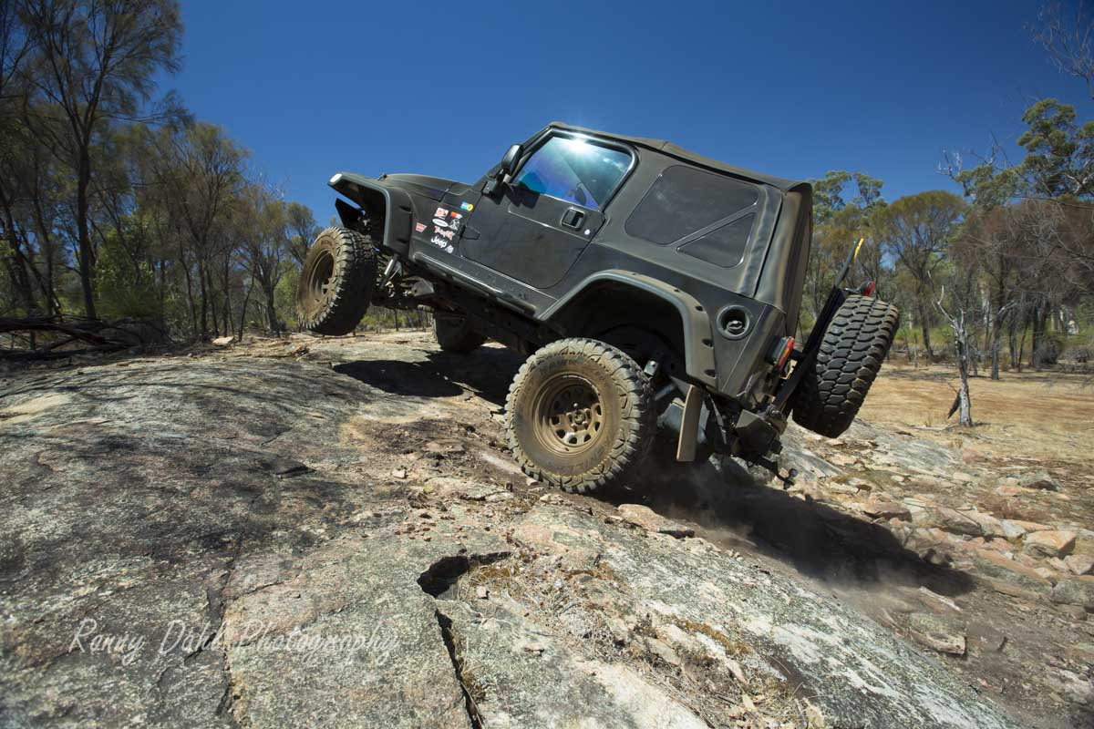 Jeep Wrangler Rock Crawling.