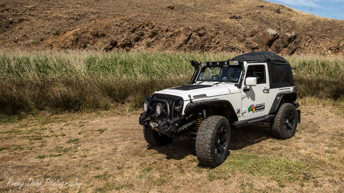 Jeep JK Rubicon, modified.