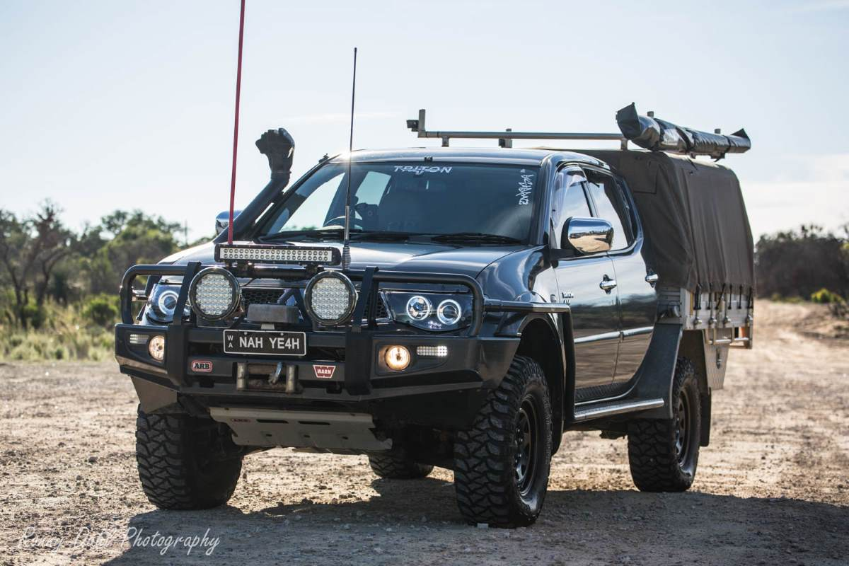 4x4 Off Road Accessories >> Mitsubishi Triton, Modified.