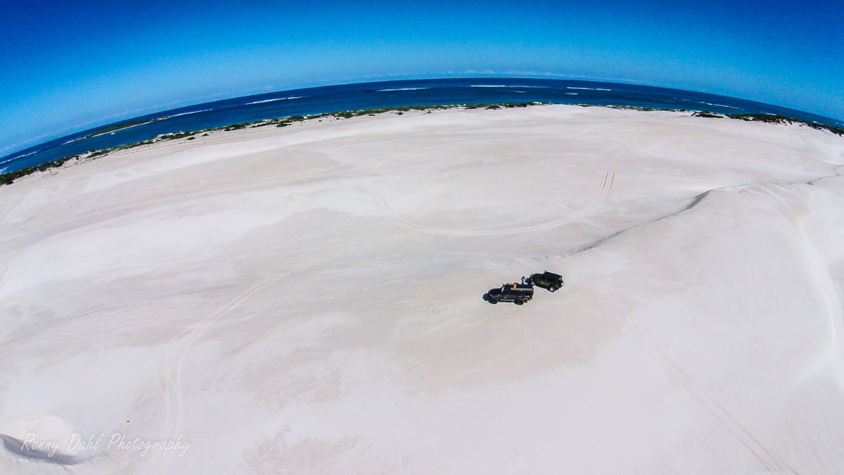 Lancelin Beach.