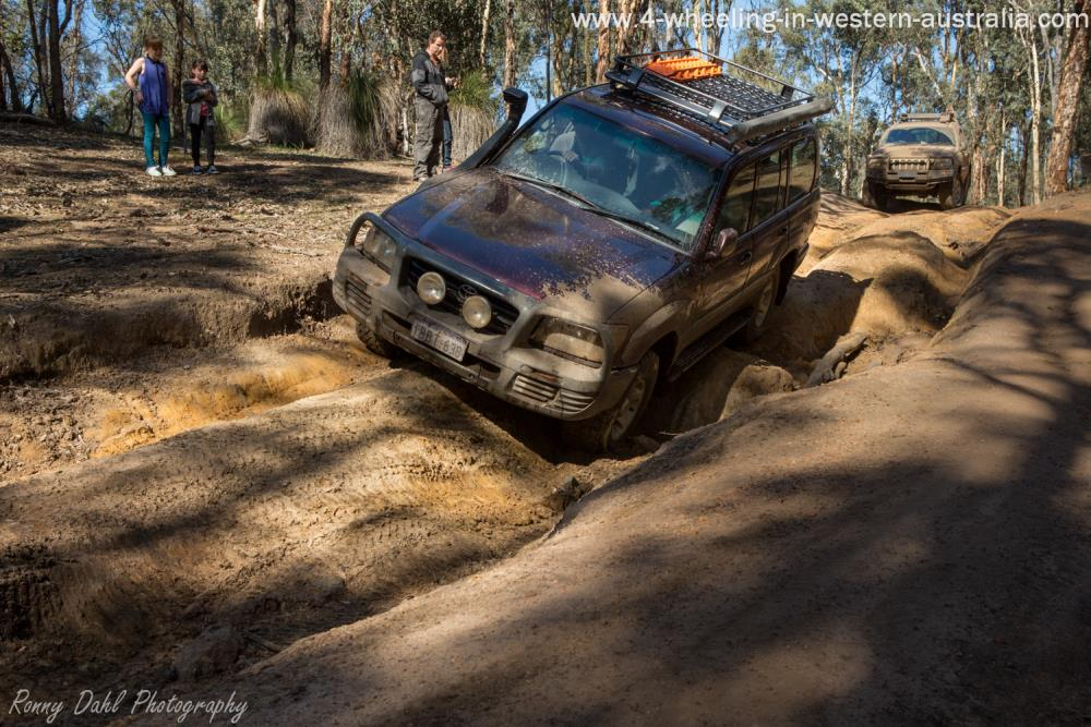 Land Cruiser ruts.