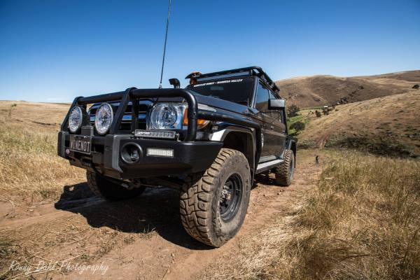 79 Series Toyota Landcruiser Modified