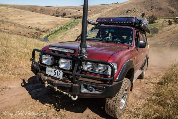 Toyota 80 series HDJ80R 1992, modified.