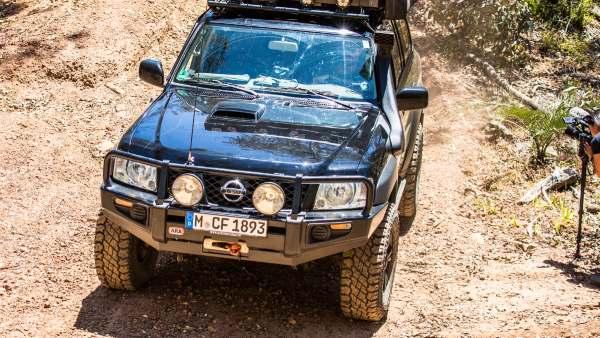 Y61 Nissan Patrol, modified.