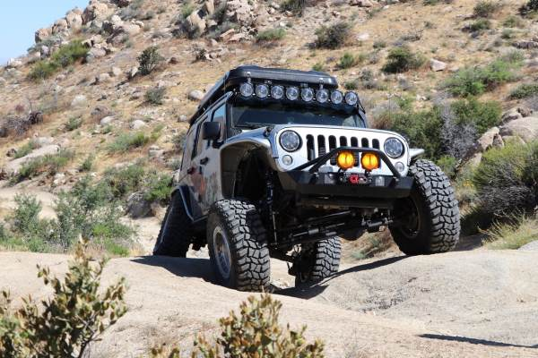 Jeep Wrangler Rubicon, Modified.