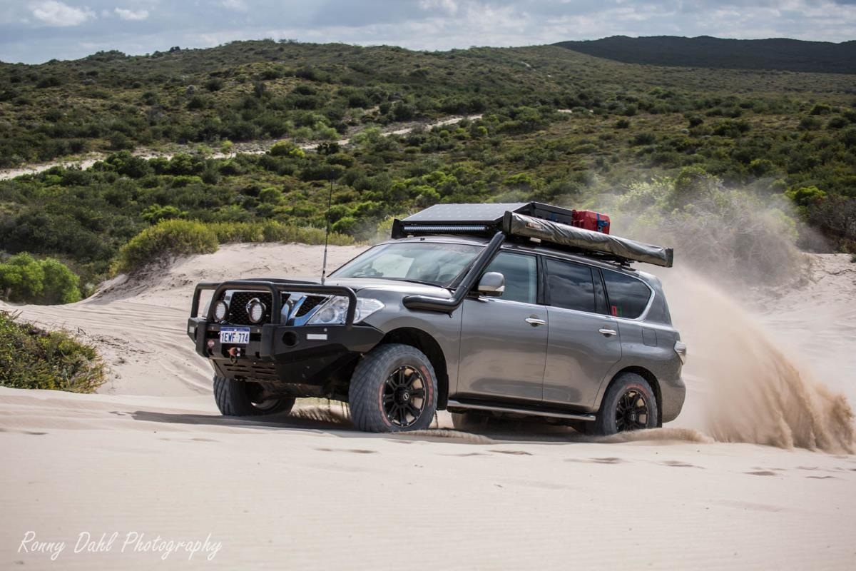 Nissan Patrol Y62 Datsun Modified