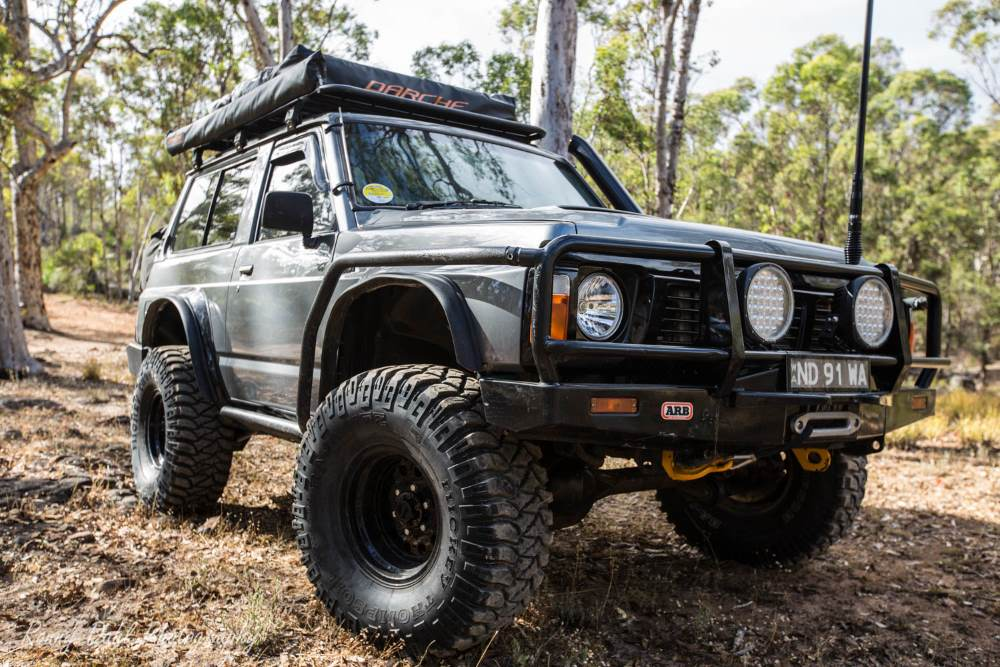 Ford Maverick 4x4 SWB.