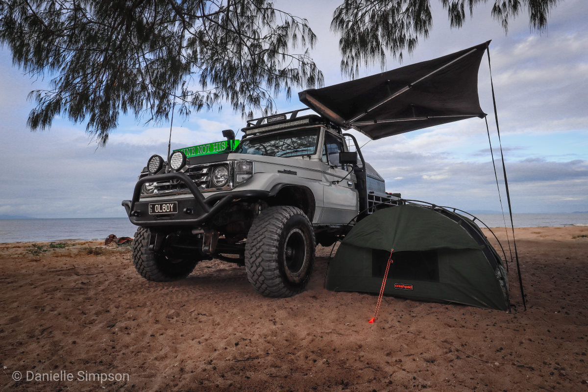 Toyota Landcruiser 75 series, modified.