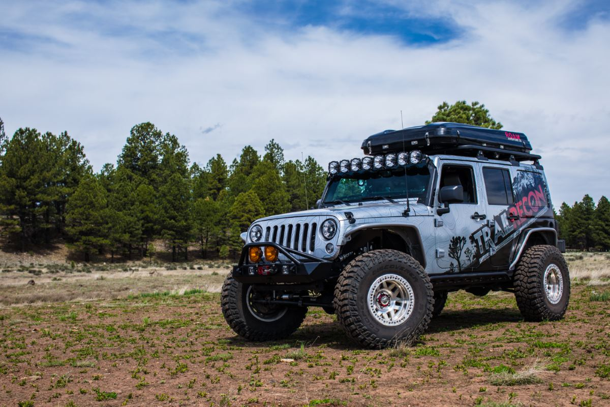 Jeep Wrangler Rubicon, Modified.