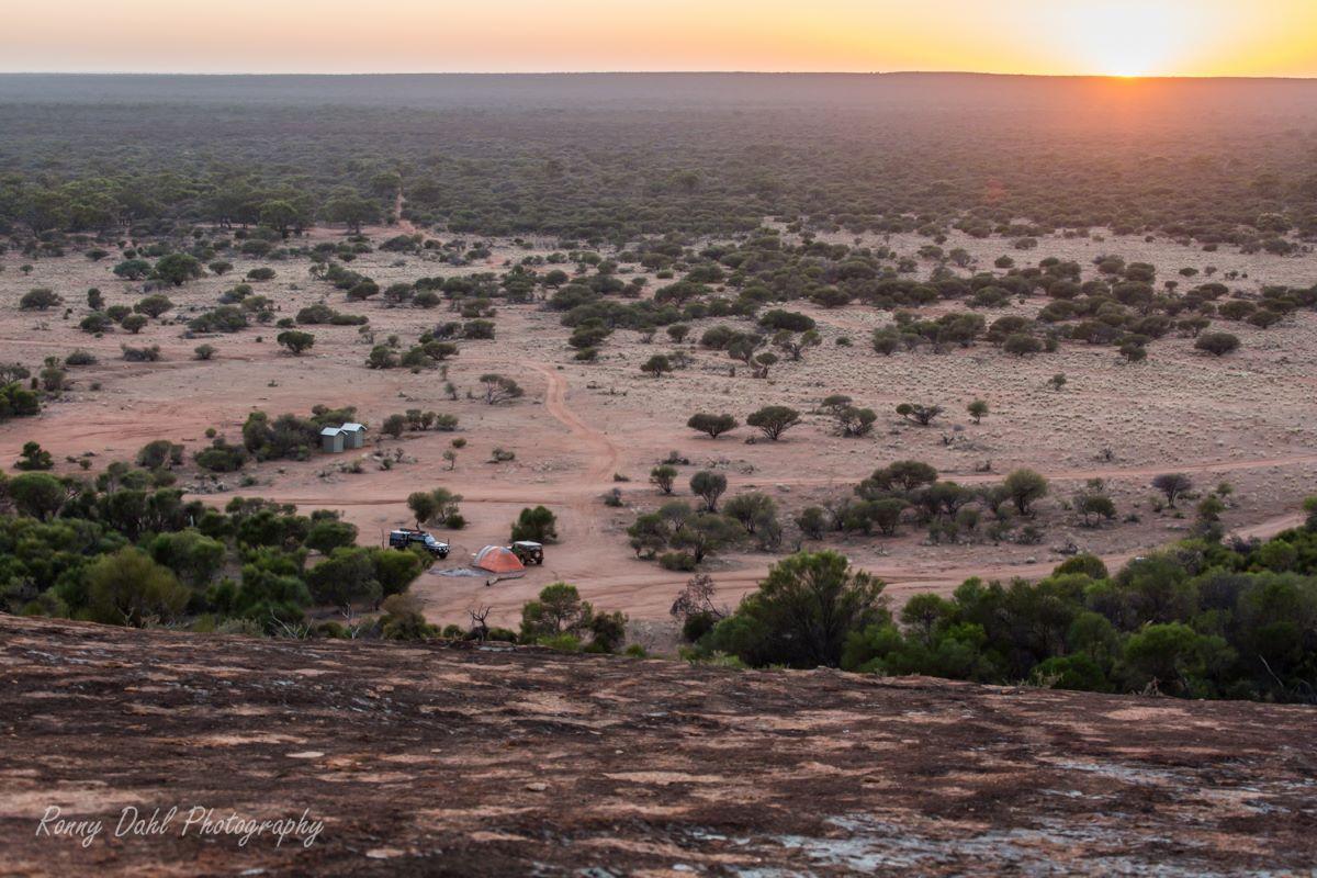 Ninghan Campsite, Western Australia.