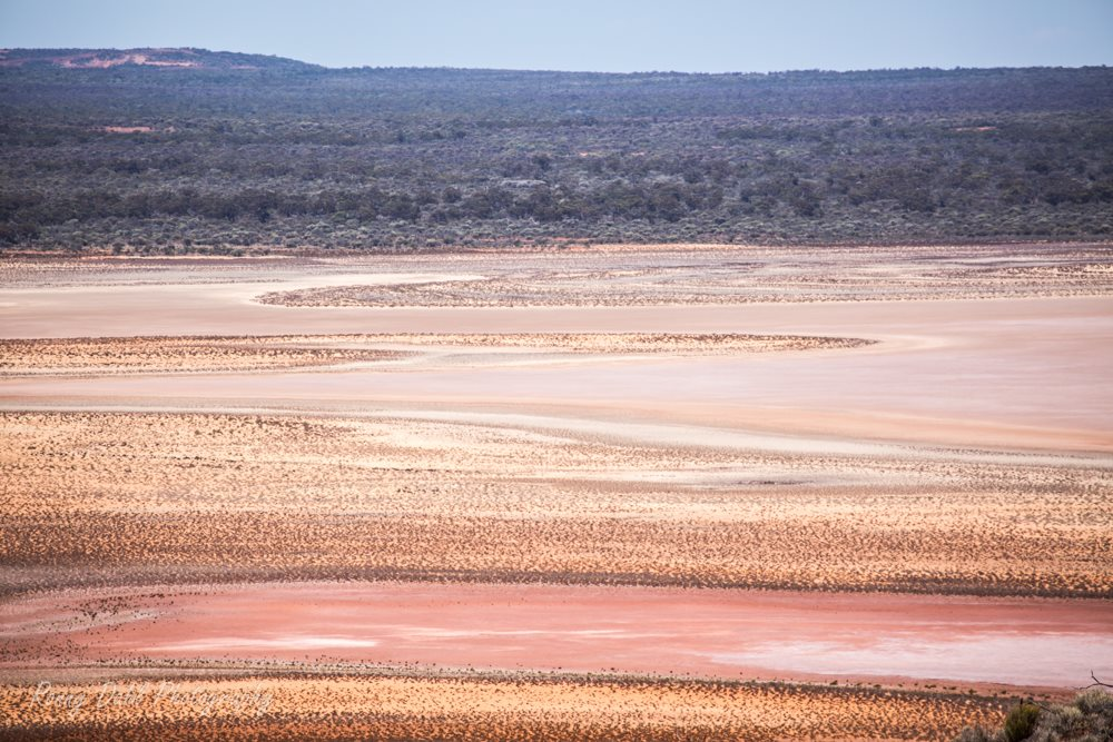 Salt Lake at Ninghan Station, Western Australia.