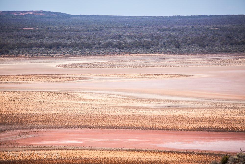Salt Lake at Ninghan Station, Western Australia.