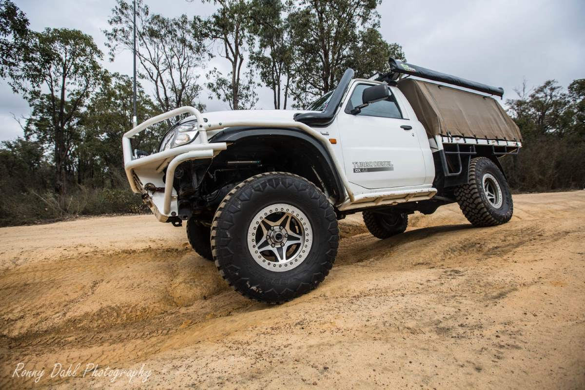 Nissan Gu Patrol Ute Modified