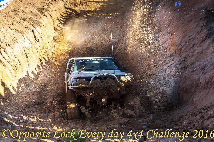 EVERYDAY 4WD comp the TANK TRAP stage we WON