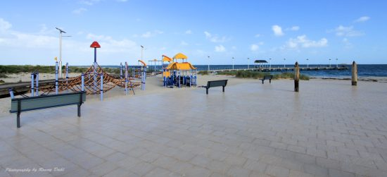 Playground & jetty at Jurien Bay
