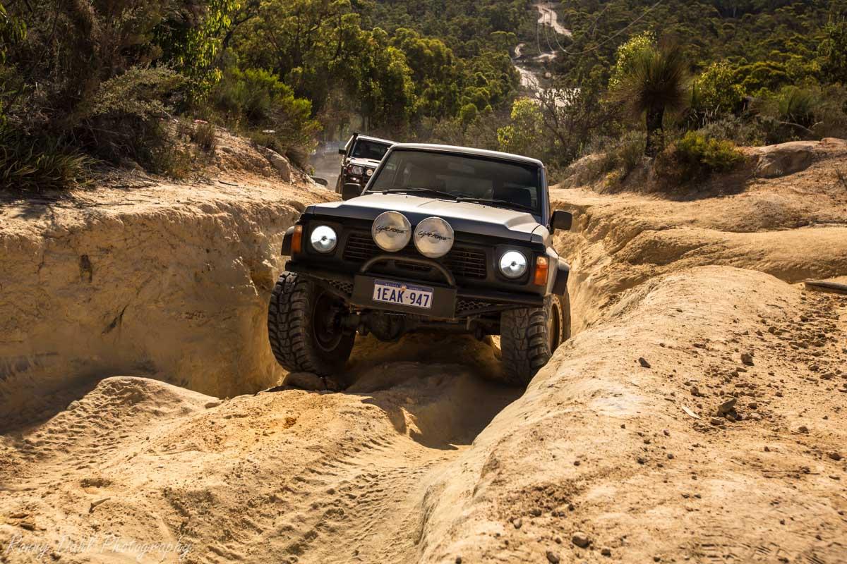Mundaring powerline Track. Western Australia.