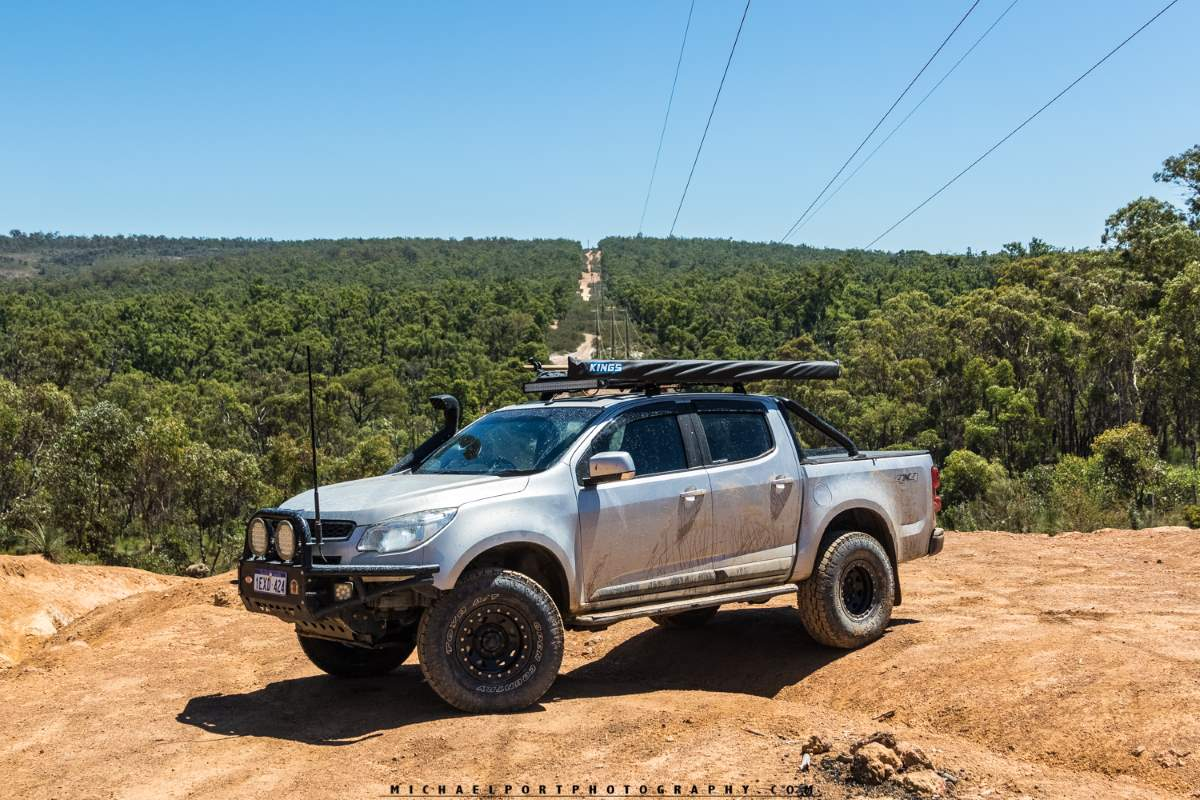 RG Holden Colorado on the Powerline, Perth, Western Australia.