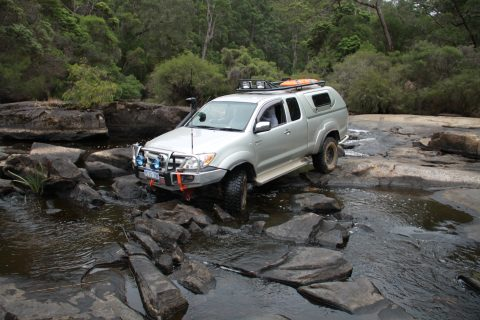 Rivercrossing at Pemberton