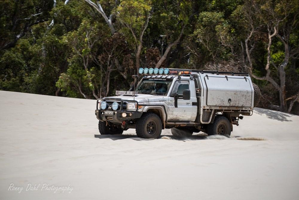 Yeagarup dunes entry. Western Australia.