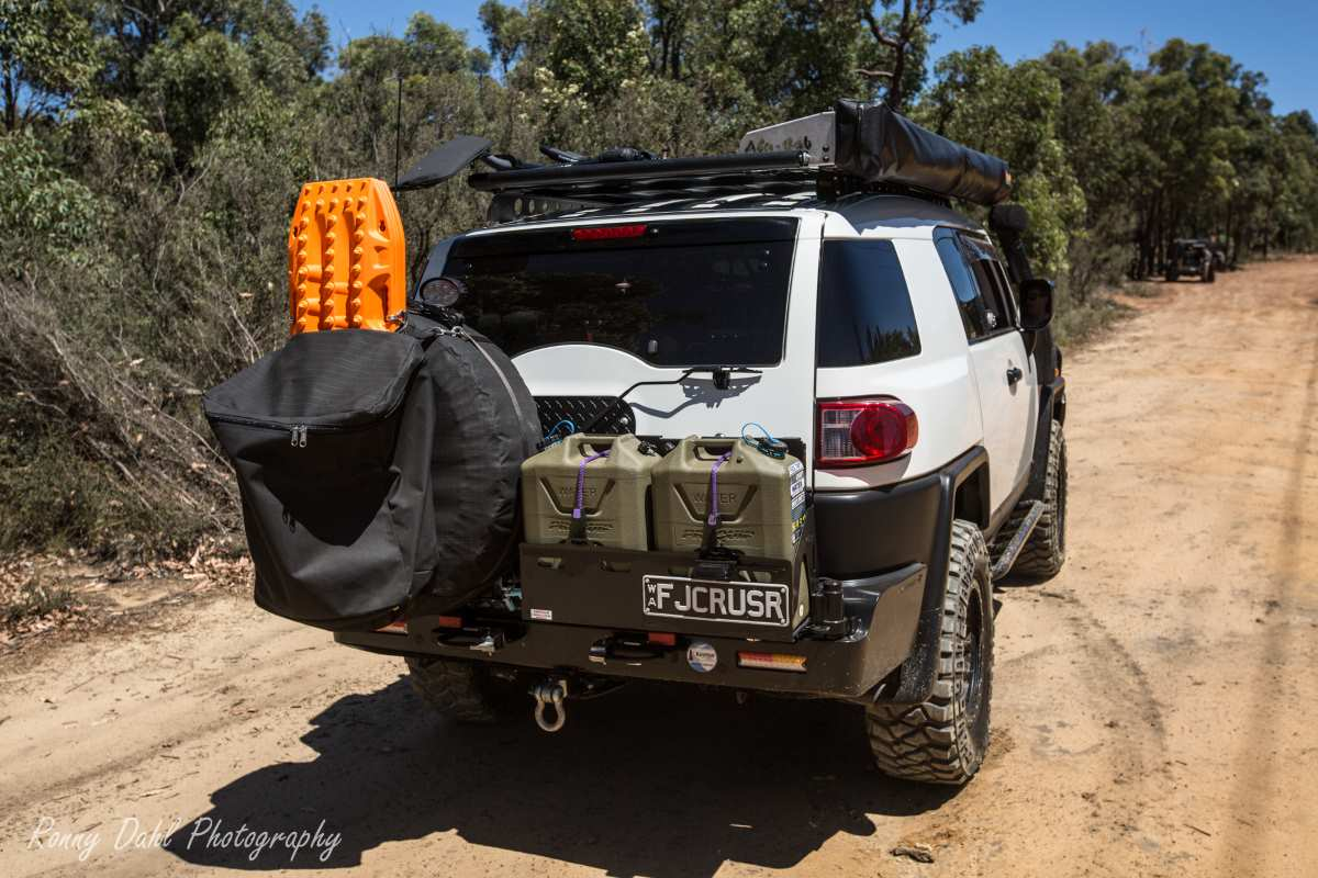 Toyota FJ Cruiser 2012, modified.