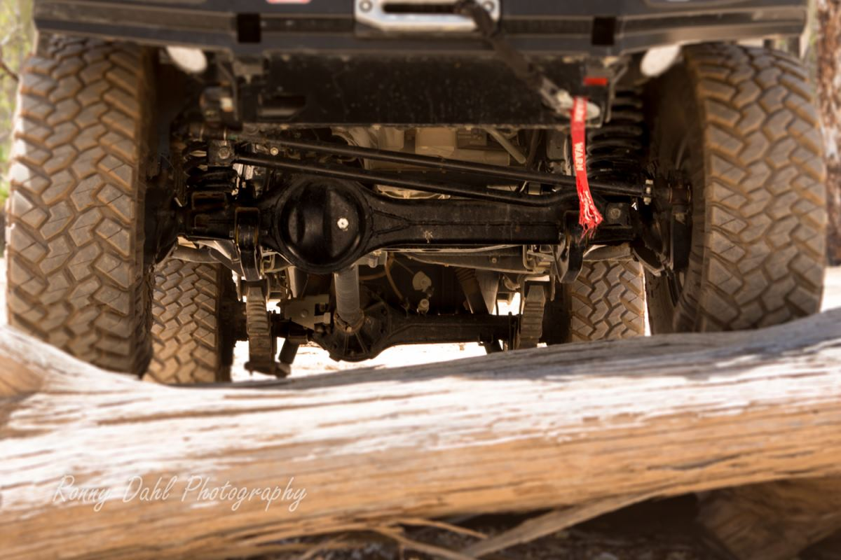 Solid Front Axle on coils.
