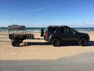 Stopped at the Indiana Dunes on the way to pick up our front bumper