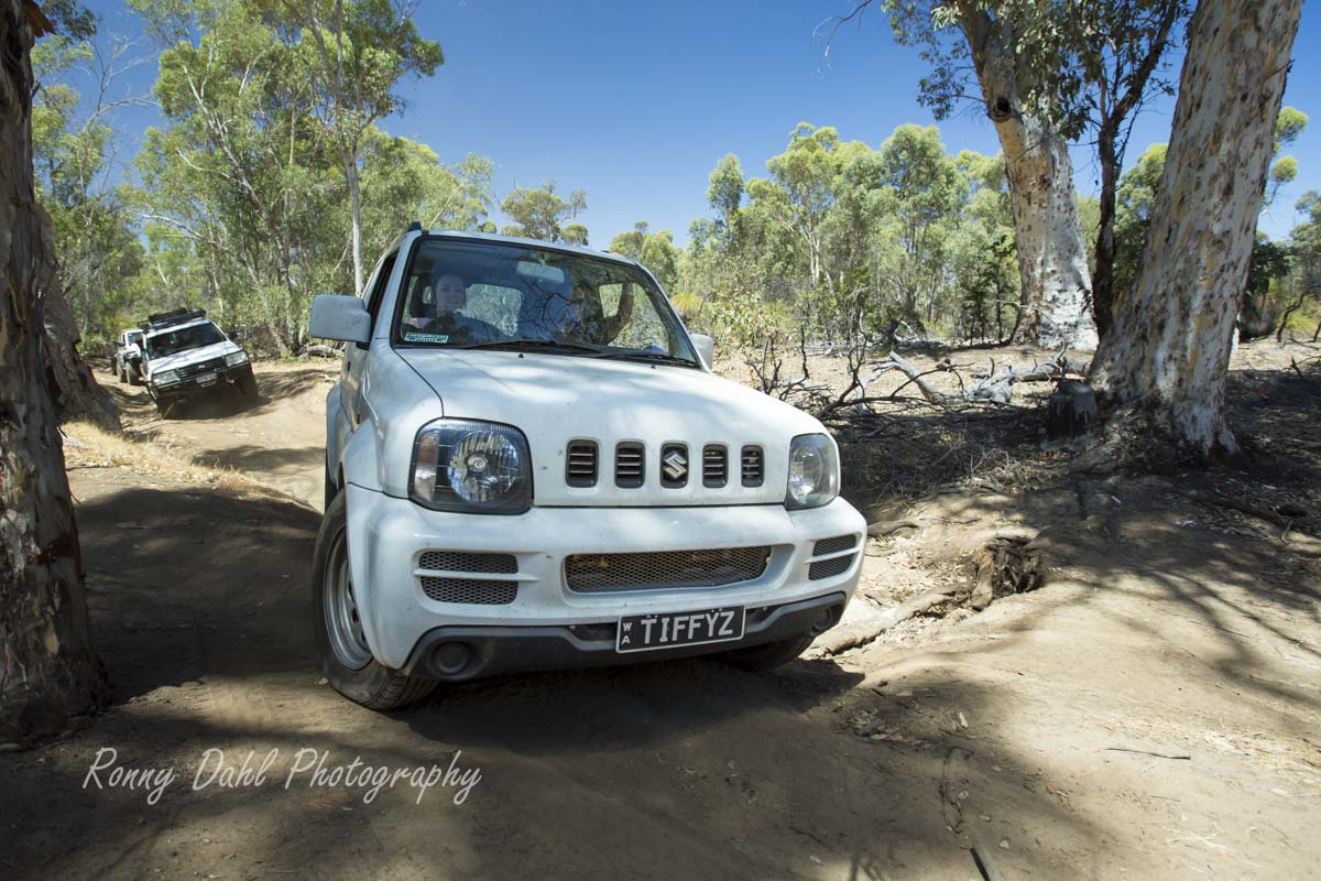 Small Stock 4wd.