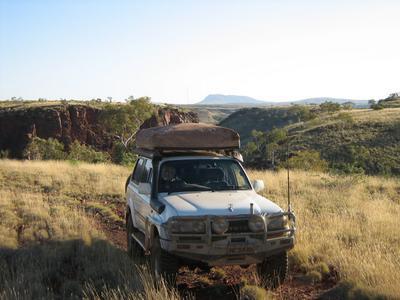 Deep in the Pilbara.