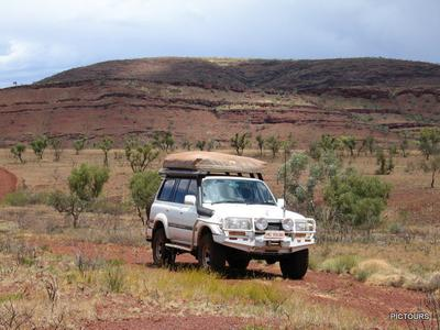 At home in the Pilbara