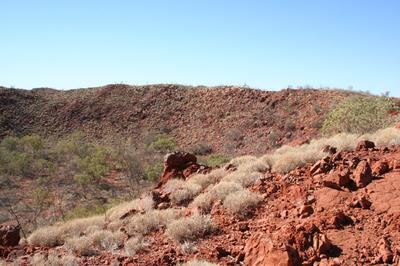 The Hickman Crater ~ South east rim ~ the Pilbara