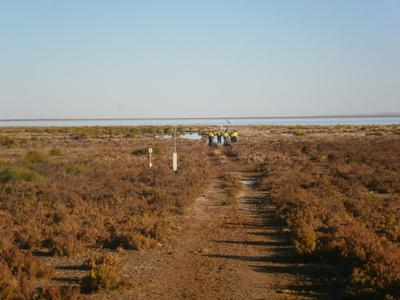 The Fortescue Marsh ~ Roy Hill Station inland Pilbara.
