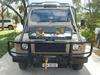 Front view 6x6 Land Rover Tourer